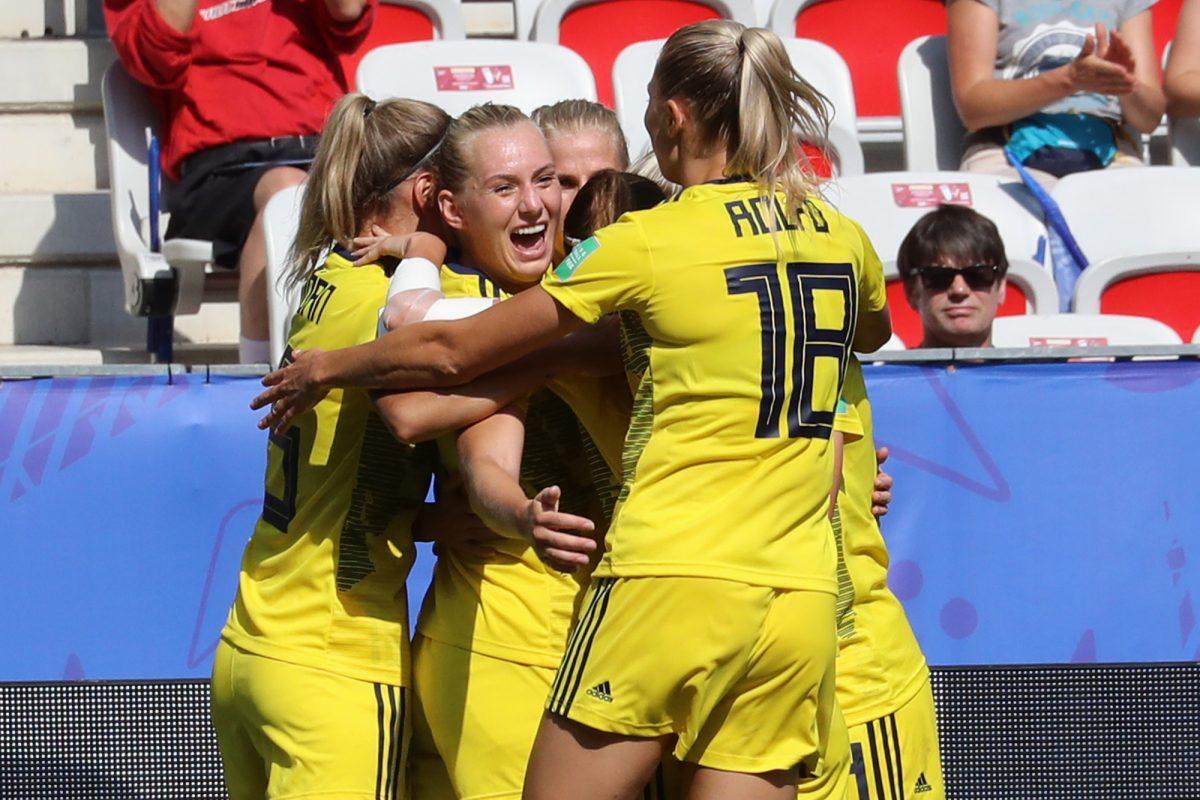 Suecia venció 2-1 a Inglaterra y logra la tercera plaza del Mundial femenino