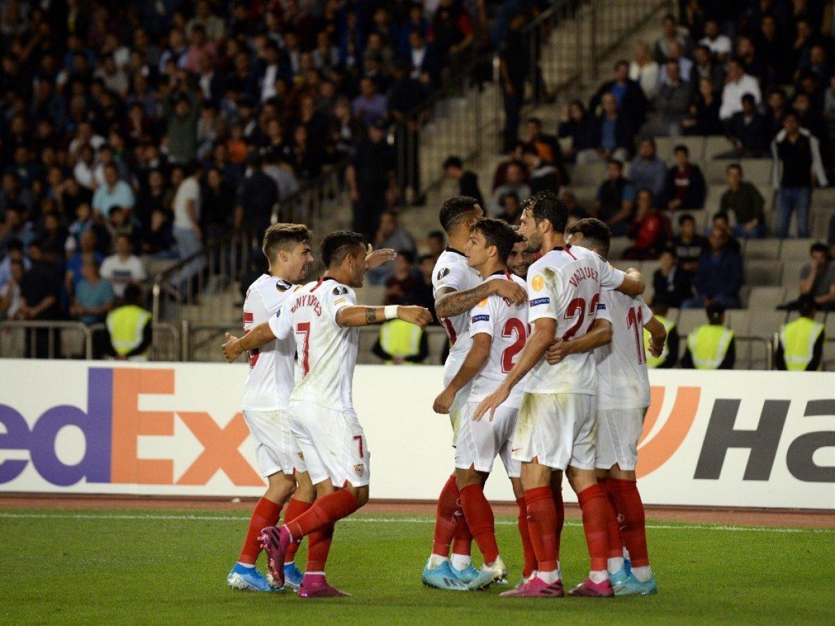 Sevilla derrotó 3x0 al Qarabag en debut en la UEFA Europa League