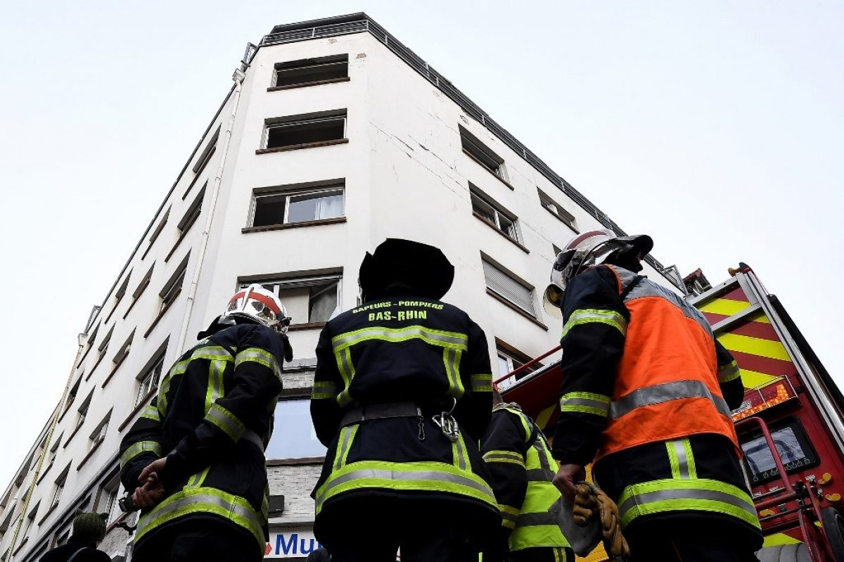 Cinco muertos y siete heridos en un incendio en Francia