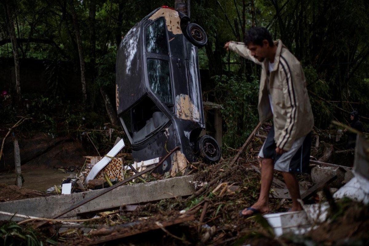 10 personas fallecieron tras fuertes lluvias en Sao Paulo