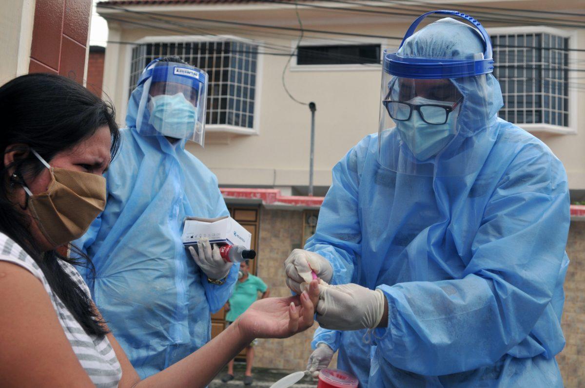 Conoce la situación de los 42.728 casos confirmados de coronavirus en Ecuador