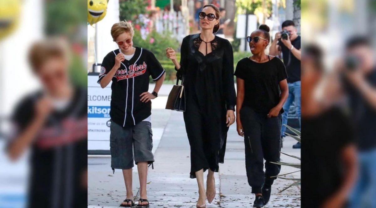 Hija de Angelina Jolie y Brad Pitt, se cambiará el nombre a John