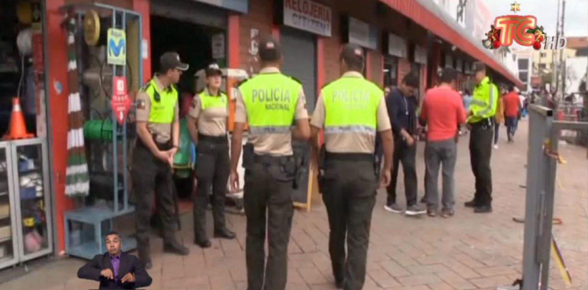 Operativos antidelictivos en sectores de Cuenca, Azuay
