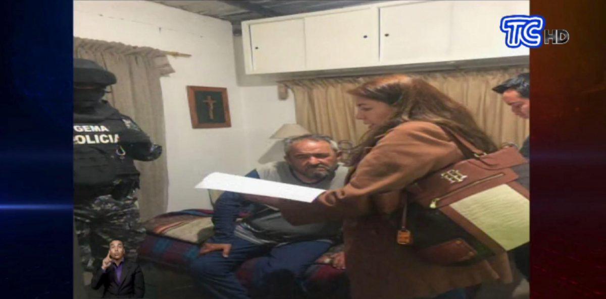 Padre de Gabriela Rivadeneira fue detenido por investigaciones de enriquecimiento ilícito en Otavalo