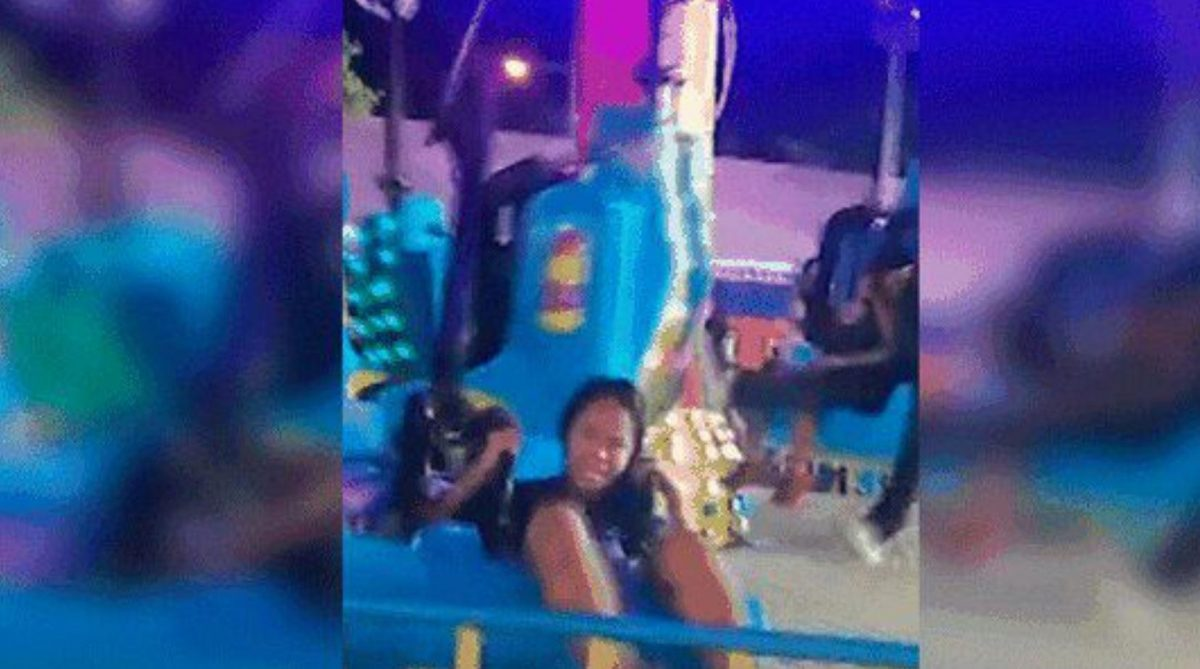 VIDEO | Una atracción se rompe en una feria en Filipinas hiriendo a dos niños