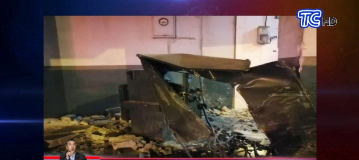 Quevedo: un choque e incendio dejó dos muertos
