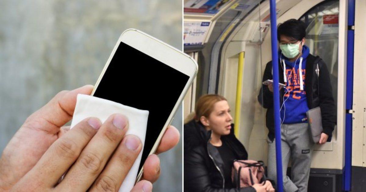 ¿Cuánto tiempo puede sobrevivir el coronavirus en la pantalla de un celular?