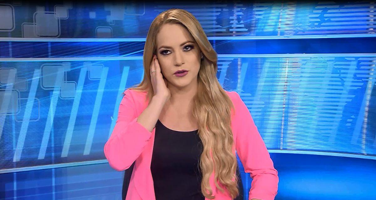 VIDEO   Presentadora Saskia Bermeo sorprendida por sismo durante trasmisión en vivo