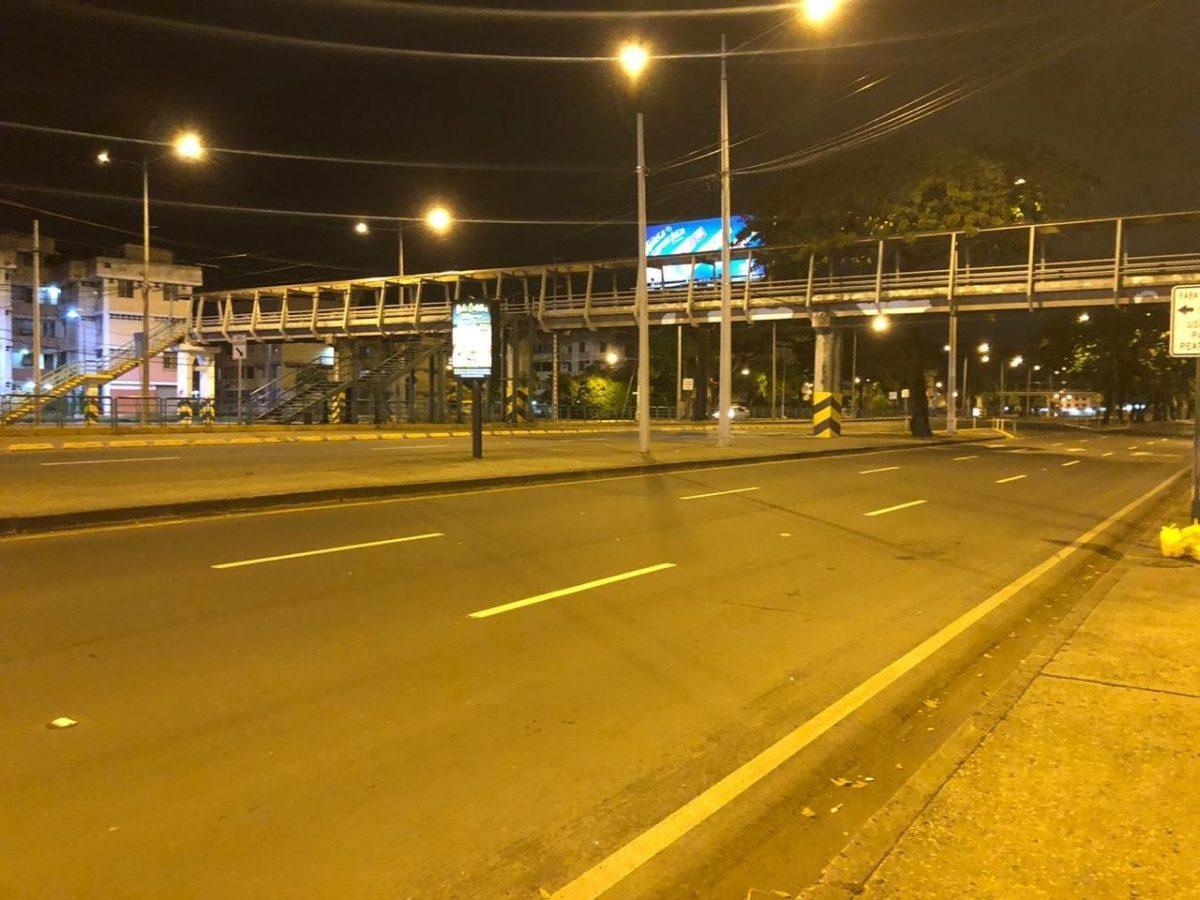 ¡EN VIVO! Así lucen las calles de Guayaquil tras comenzar toque de queda