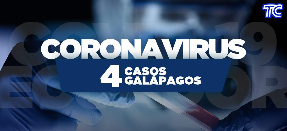 ¡ÚLTIMA HORA! En Galápagos se confirman cuatro casos de coronavirus