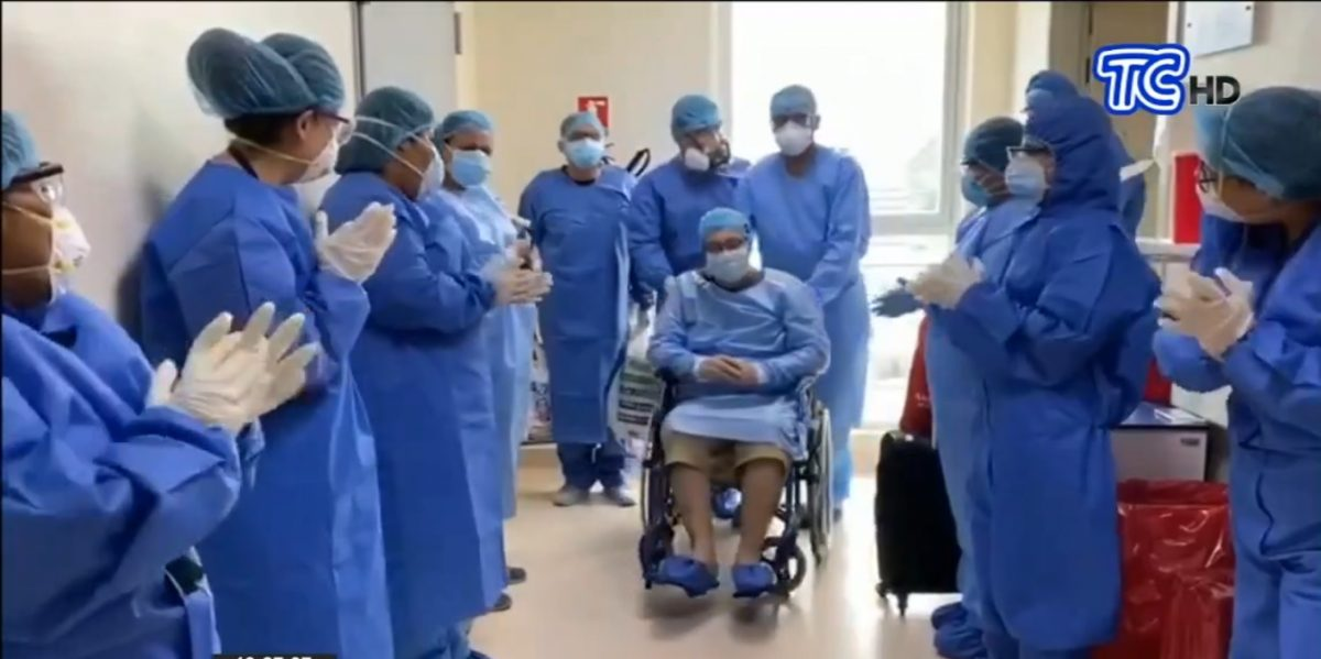 ATENCIÓN | Hay 3.457 pacientes con alta hospitalaria de covid-19 en Ecuador