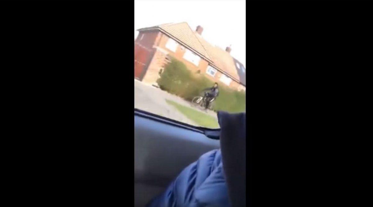 VIDEO   Atropella a ciclista y lo graba para burlarse en internet