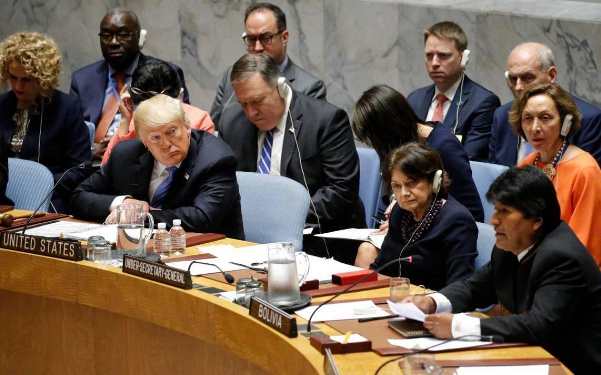 Opositores bolivianos piden a Trump interceder contra reelección de Evo Morales