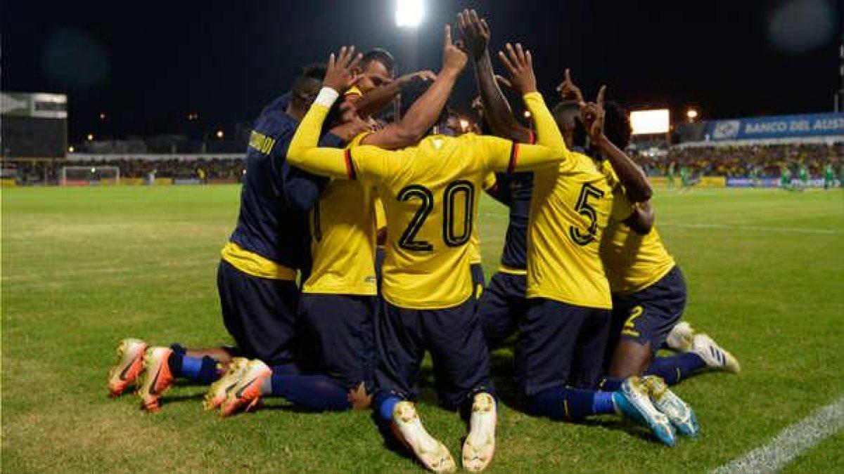 Ecuador ascendió 2 puestos en el Ranking FIFA