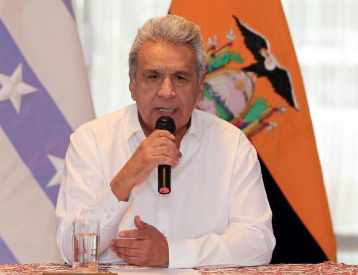 Presidente Lenín Moreno anunció nueva medida del toque de queda en Ecuador