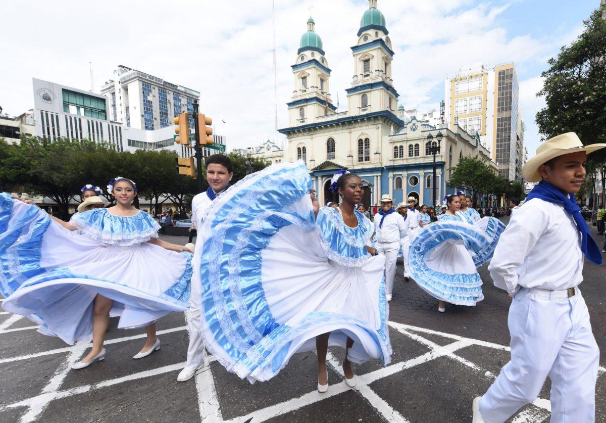 Arrancan las fiestas por los 484 años de fundación de Guayaquil