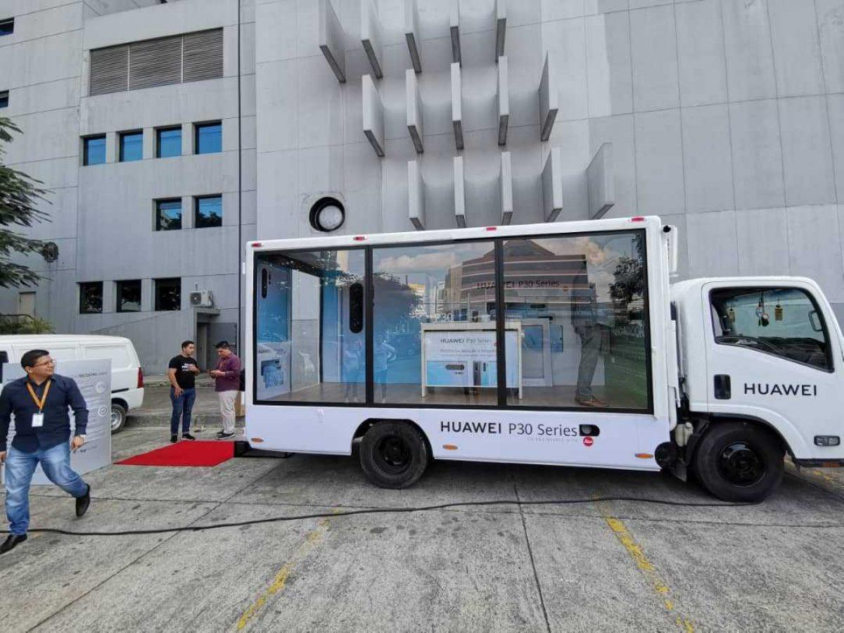 VIDEO   Camión Huawei recorre el Ecuador ¿Qué sorpresas trae?