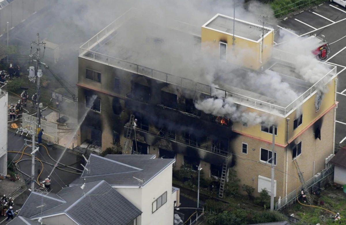 VIDEO | Más de 30 muertos y 40 heridos en el incendio en un estudio de anime en Japón