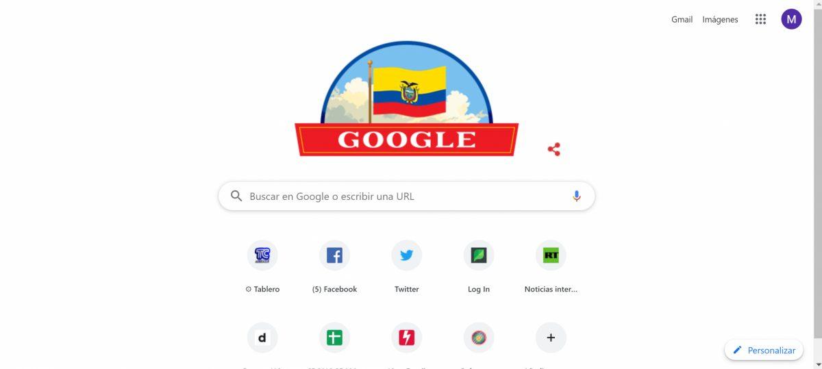Google recuerda el Primer Grito de Independencia con un 'Doodle'