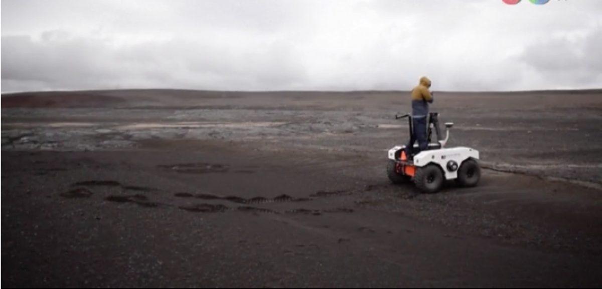 Así se prepara la NASA en campo de lava para misión a Marte