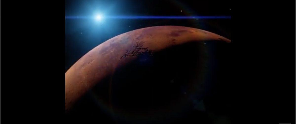 """""""Bombardeemos Marte"""": proponen lanzar bombas nucleares en dicho planeta para hacerlo habitable"""