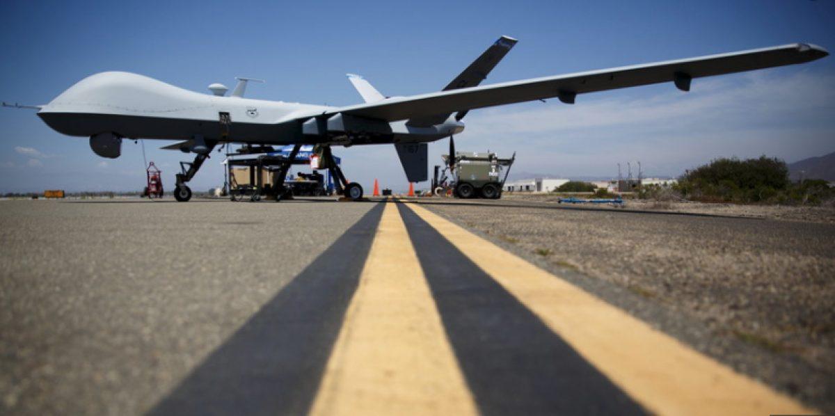 Dron estadounidense derribado sobre Yemen