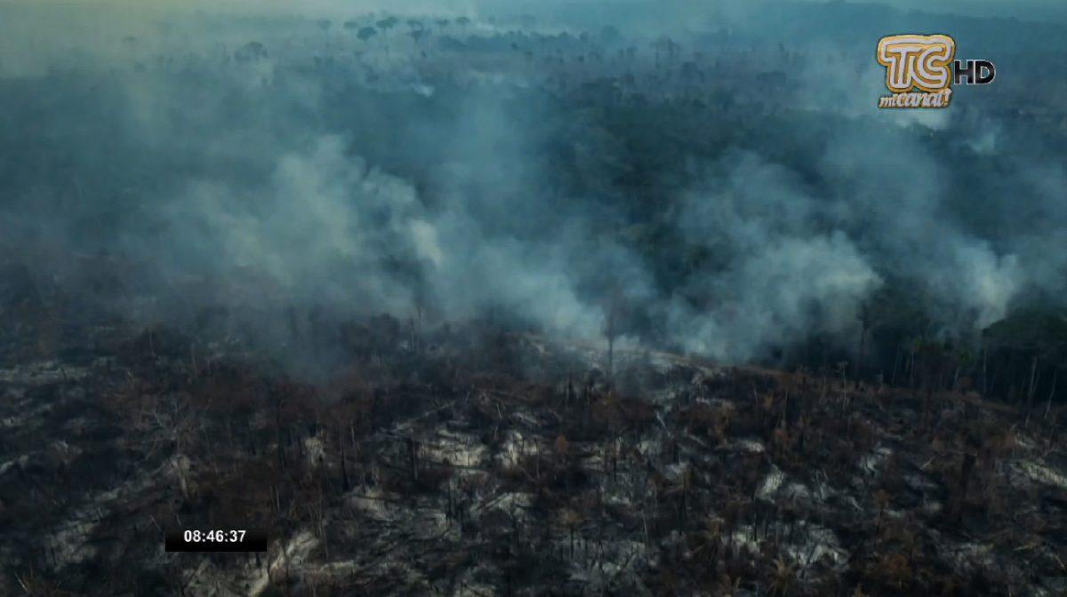 El G7 acordó aportar 22 millones de dólares para combatir los incendios en el Amazonas