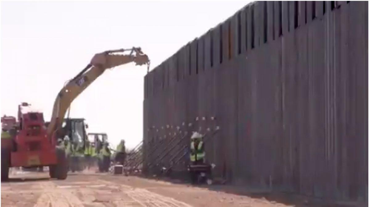 La Migra graba un video espectacular para presumir del nuevo muro de Trump. Pero la verdad es muy diferente