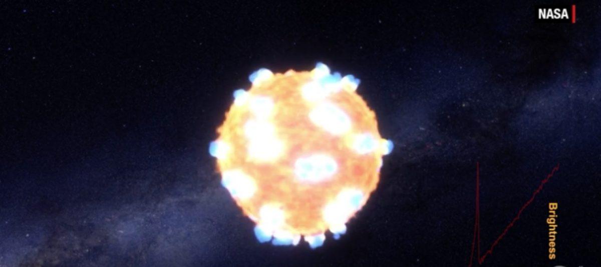 Así se ve una explosión que crea oro en el espacio