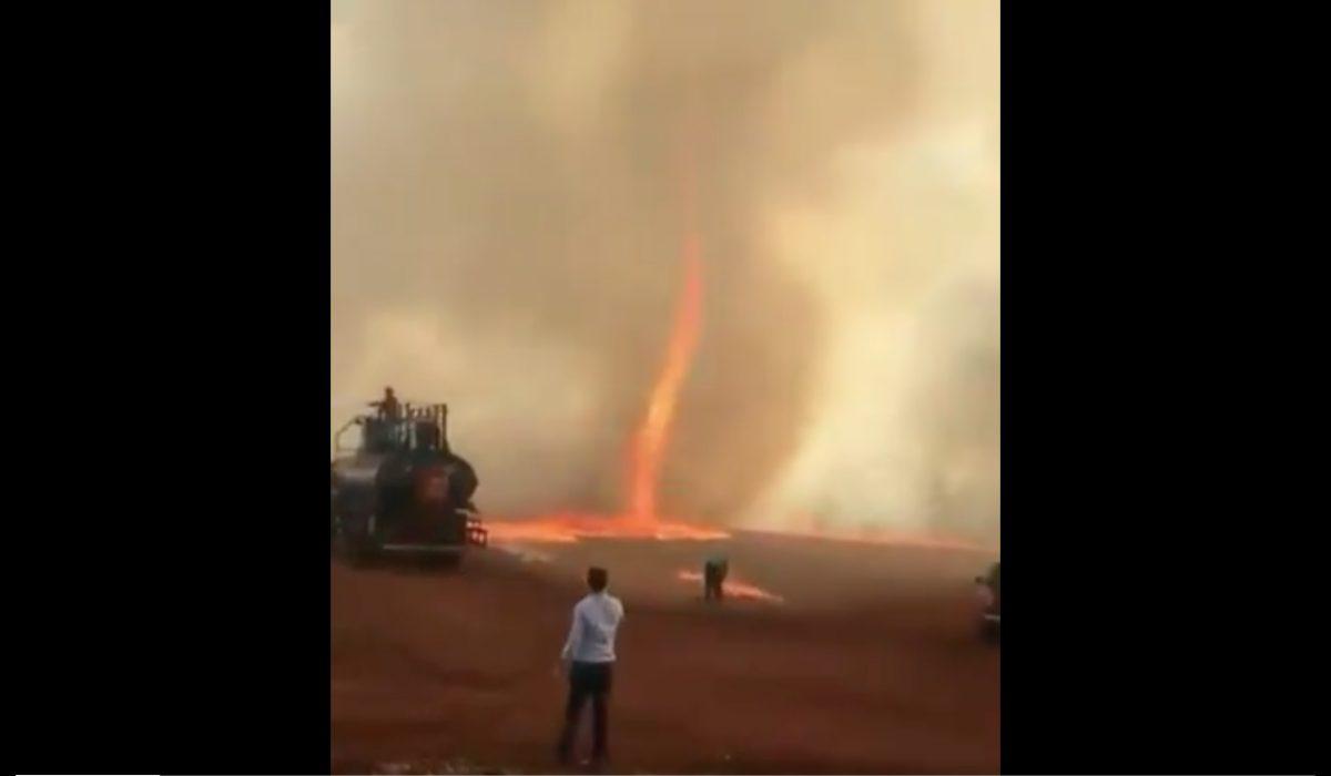 VIDEOS IMPACTANTES   Se registran tornados de fuego en incendios en Brasil