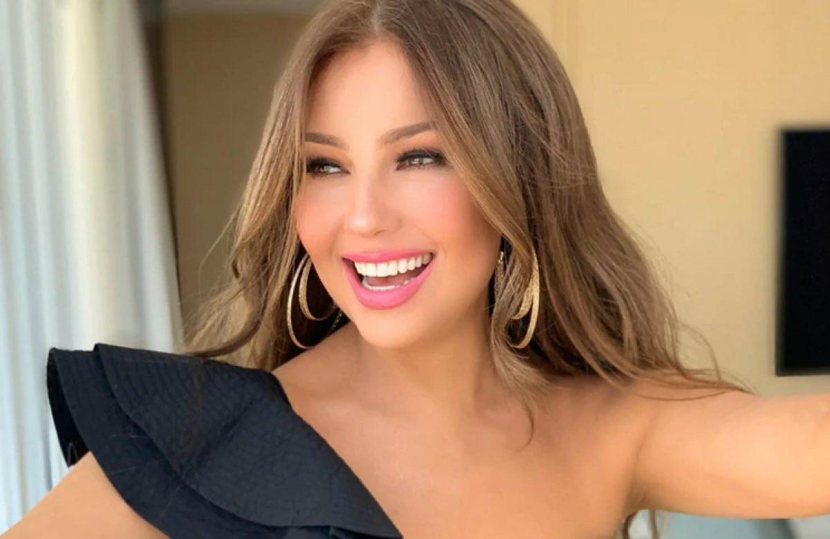Thalía demostró lo grande que está su hija Sabrina con una divertida foto