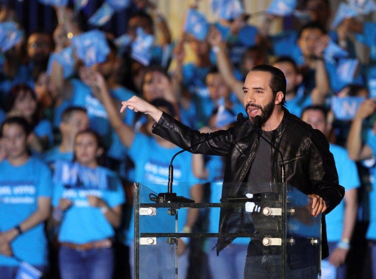 El Salvador   Nayib Bukele lidera la elección presidencial y se encamina a ganar en primera vuelta