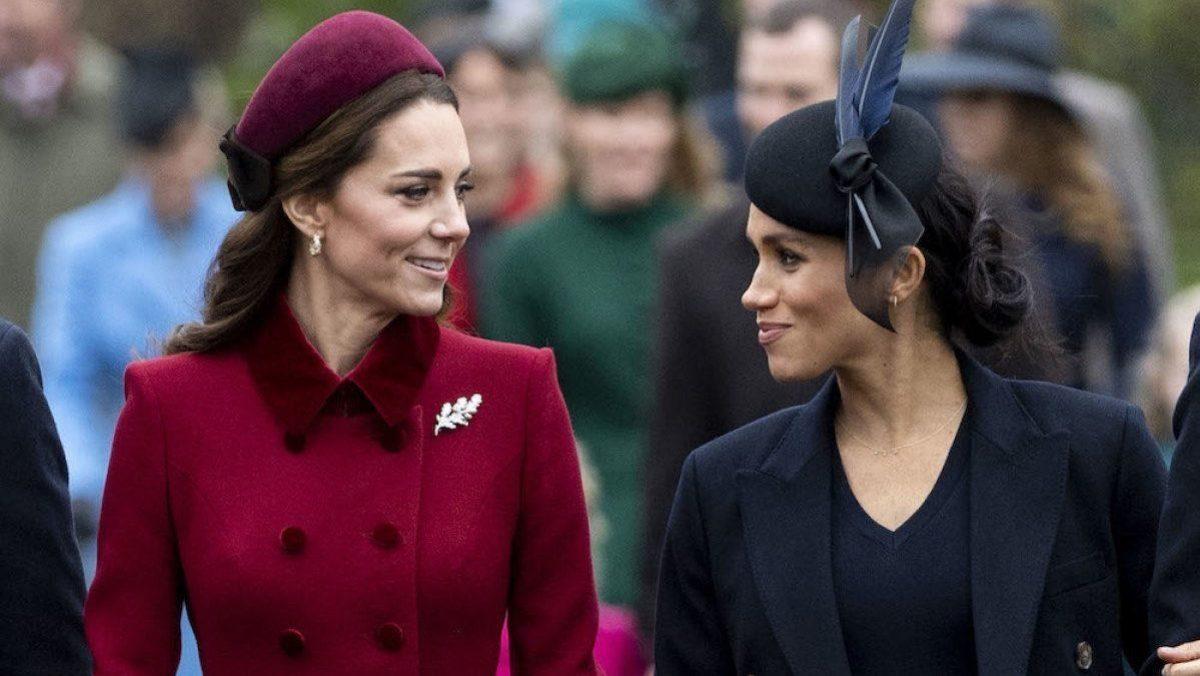 """Meghan Markle """"siente pena"""" por Kate Middleton por las fotos """"forzadas"""" con sus hijos"""