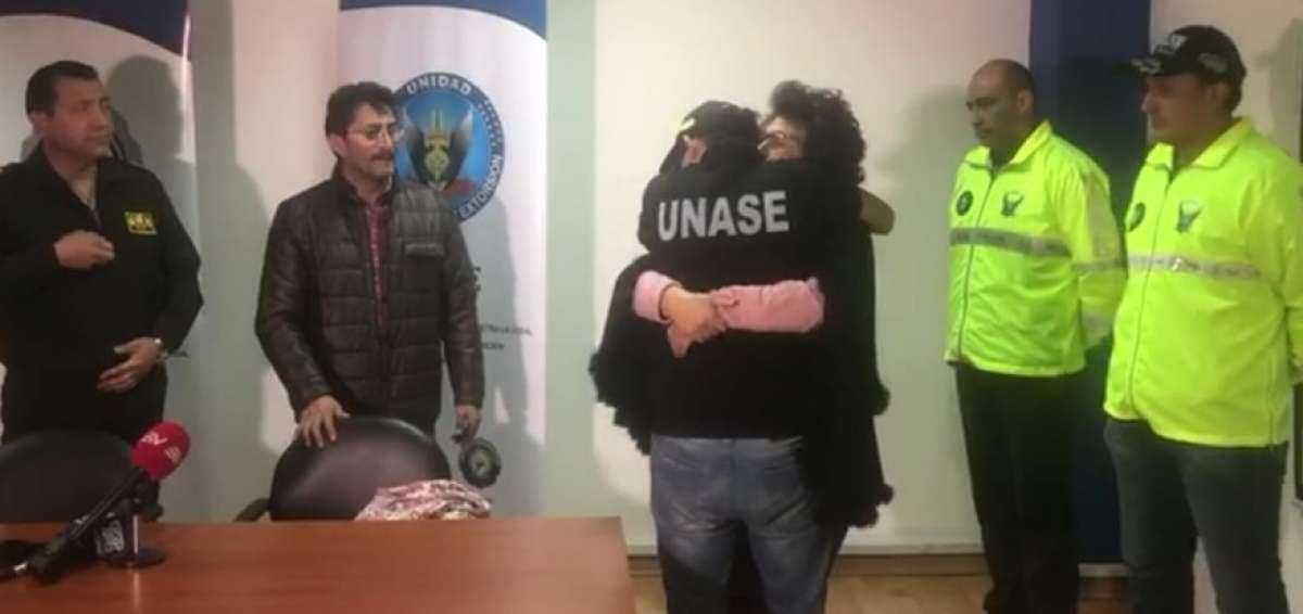 VIDEO | Rescatan a joven que permanecía secuestrado al sur de Quito