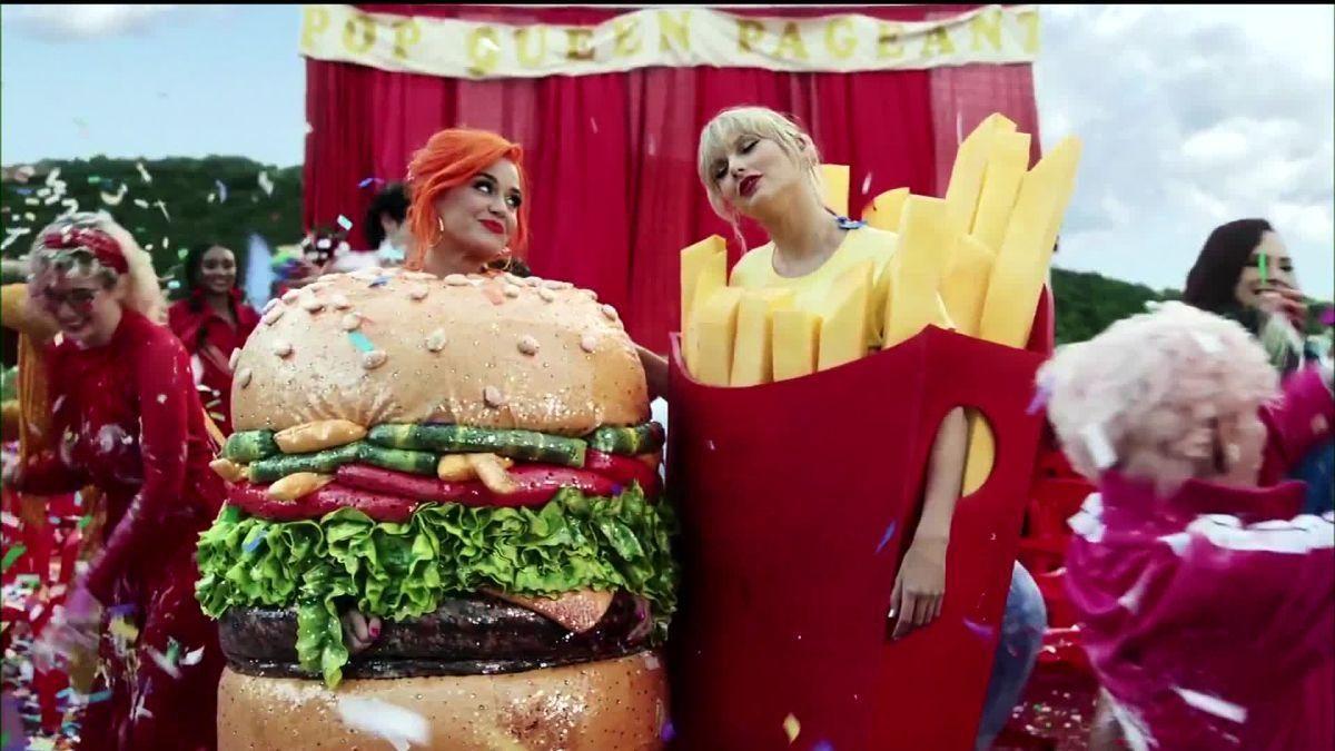 Taylor Swift y Katy Perry juntas en videoclip