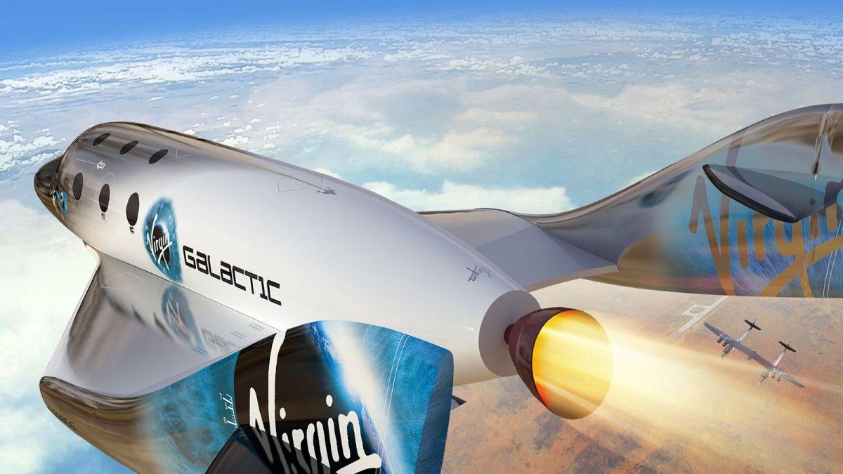 La empresa de turismo espacial Virgin Galactic da sus primeros pasos en Wall Street