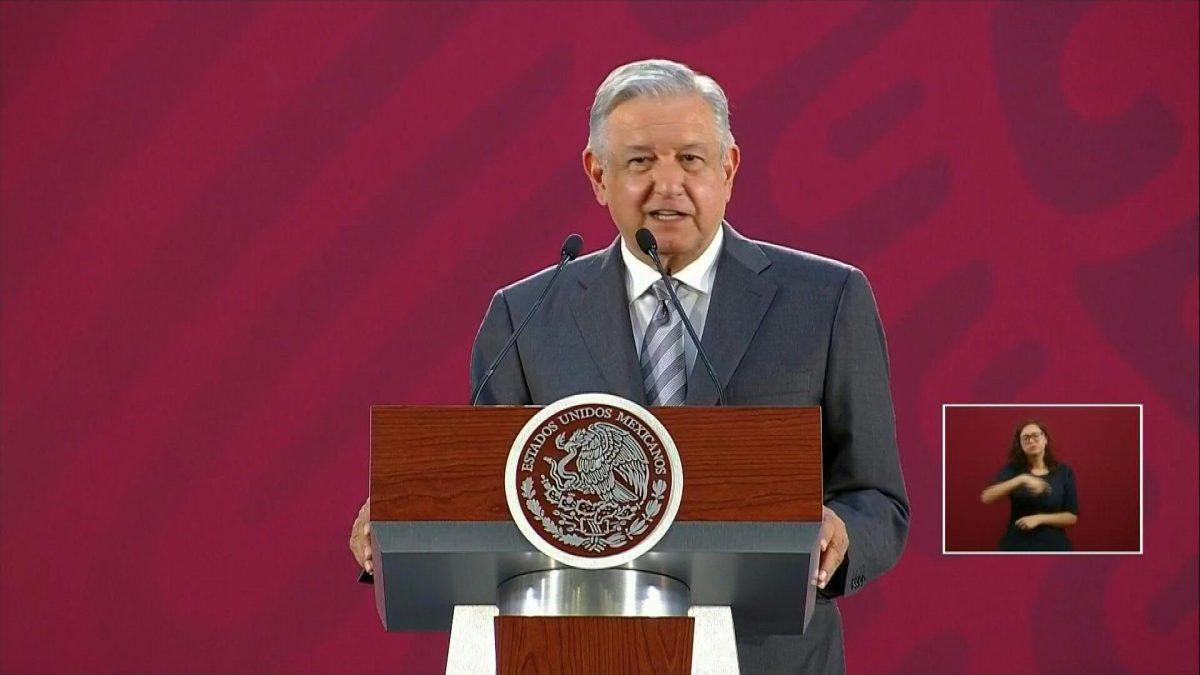 Presidente de México dedica mensaje a soldados tras balacera en Culiacán
