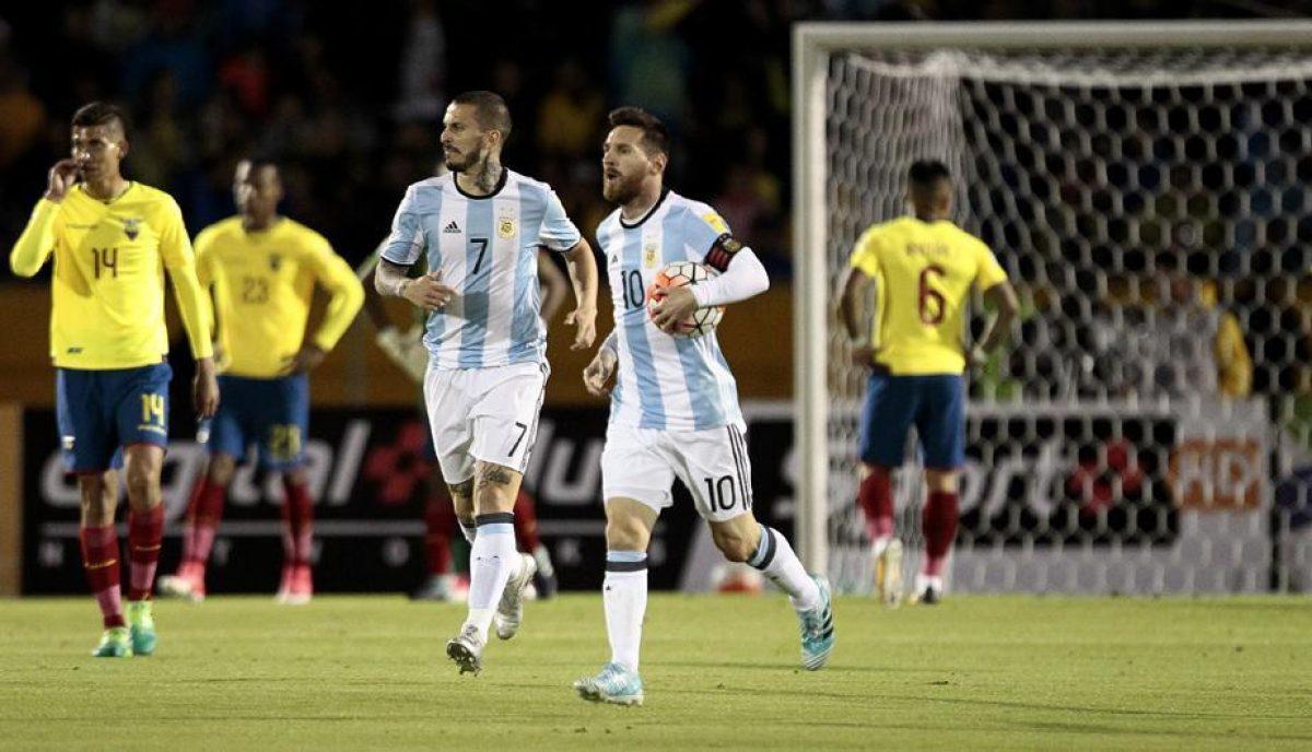 COMUNICADO: Argentina vs Ecuador por eliminatorias no se jugaría