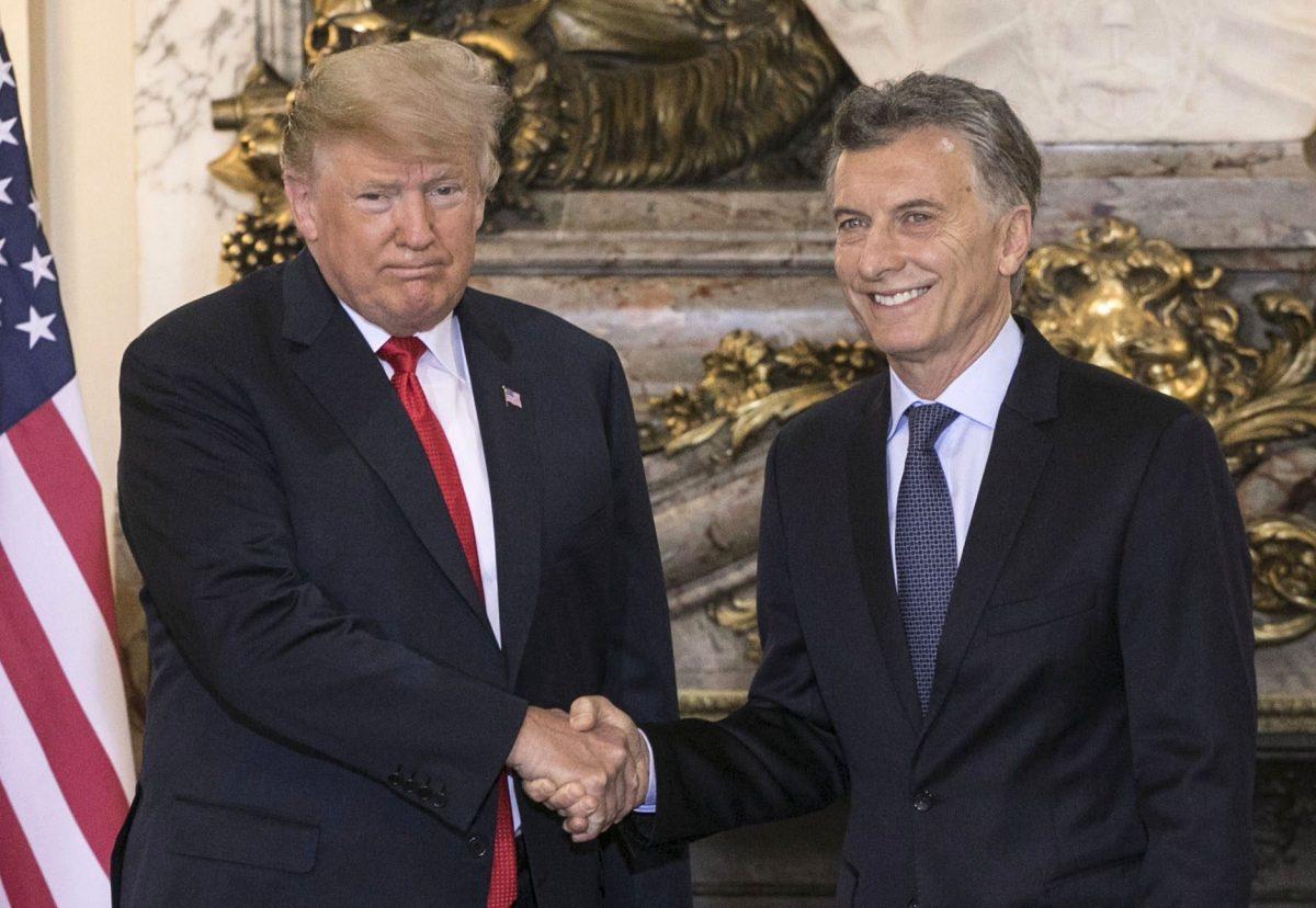 VIDEO: Trump se reúne con Macri y rinde homenaje a su padre