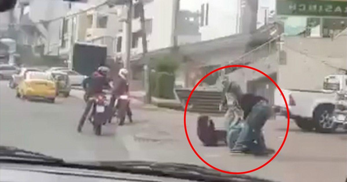 Video viral de asalto en Quito se investiga