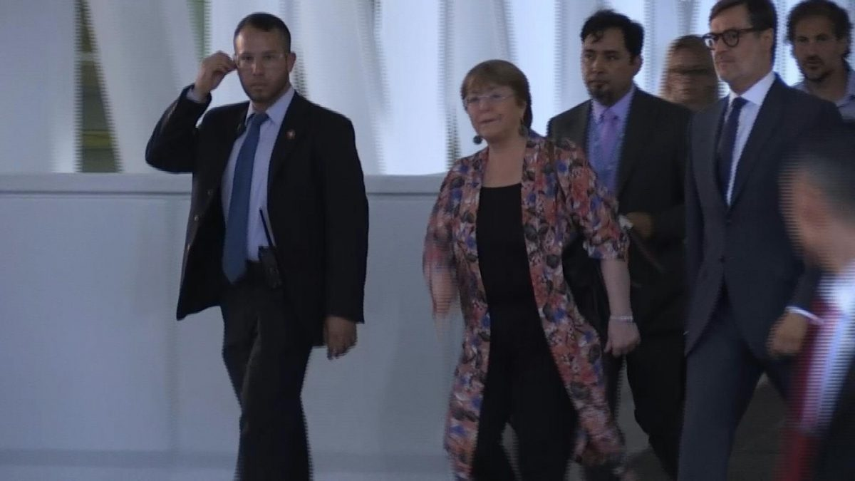 VIDEO   Bachelet inicia visita a una Venezuela devastada por la crisis