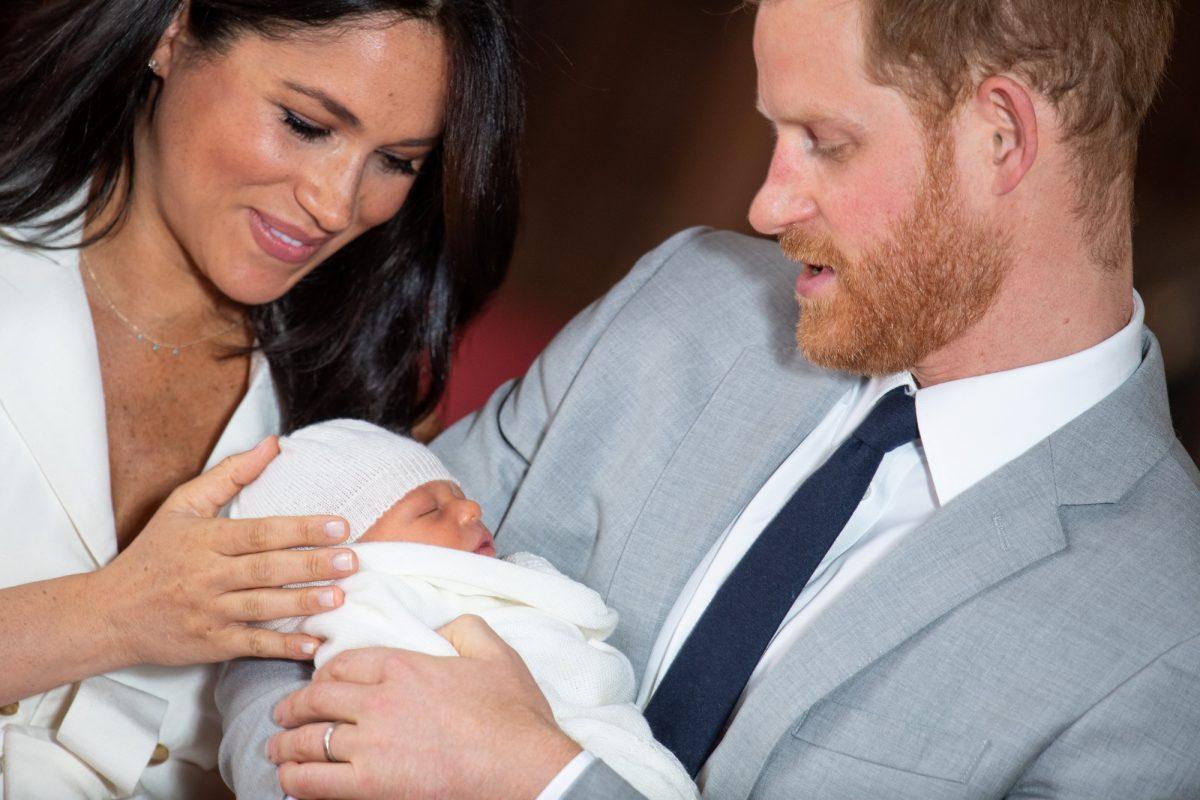 El bebé real del príncipe Harry y Meghan, será bautizado en secreto