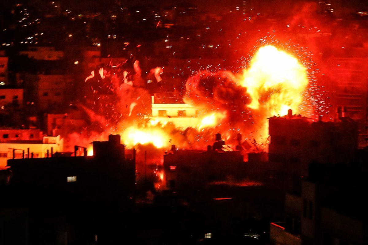 VIDEO: Israel bombardea Gaza tras lanzamiento de cohetes palestinos