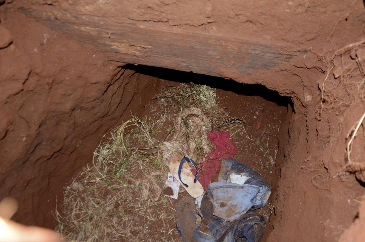 75 presos brasileños escaparon de una cárcel en Paraguay a través de un túnel