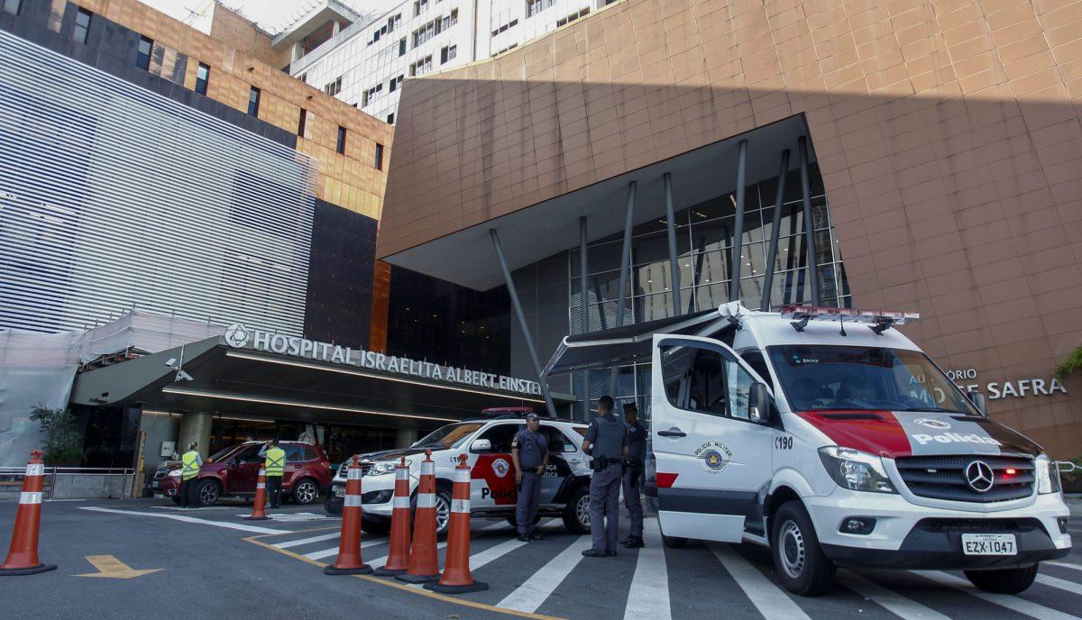 VIDEO: Jair Bolsonaro ingresó a hospital para una nueva cirugía
