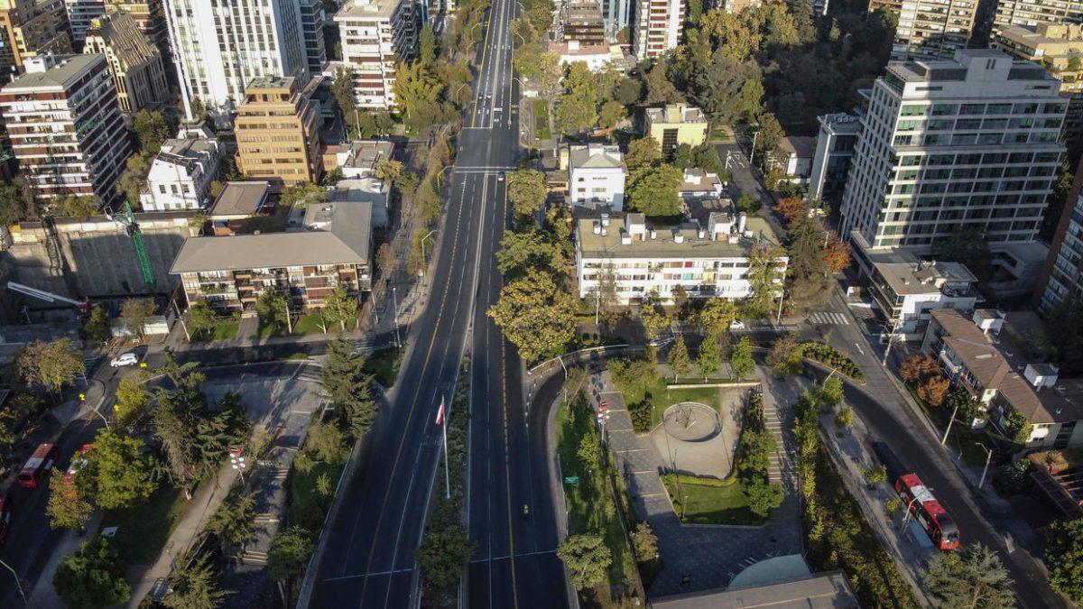 Chile ordena cuarentena total en siete comunas de Santiago por el coronavirus