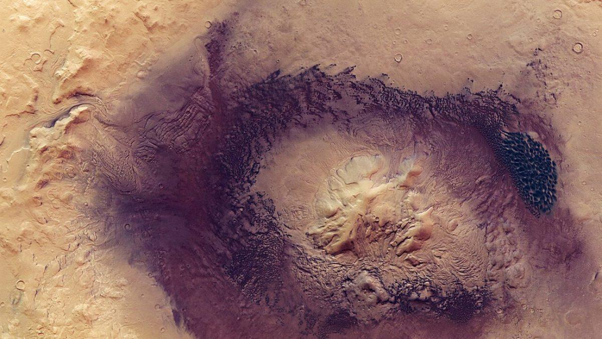 La sonda Mars Express de la ESA capta impresionantes imágenes de Marte