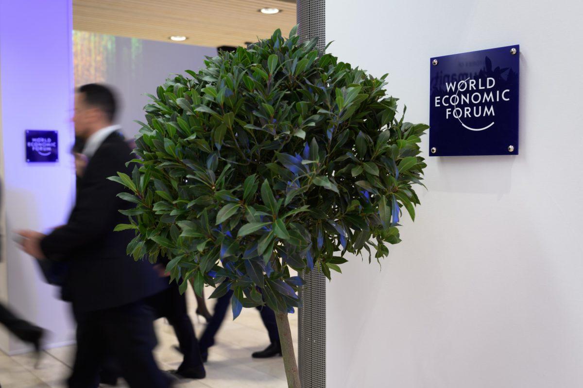 En el Foro de Davos, todo el mundo quiere plantar árboles