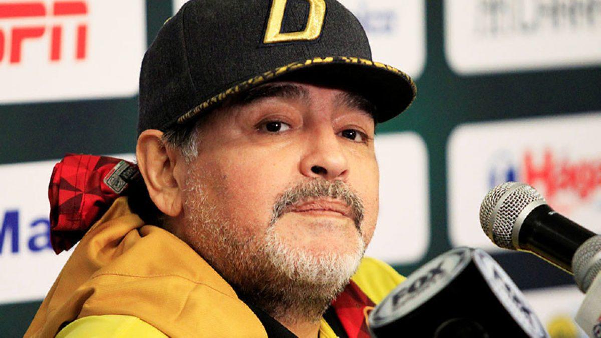 VIDEO: el silencio de Diego Maradona cuando le preguntaron por el fútbol mexicano
