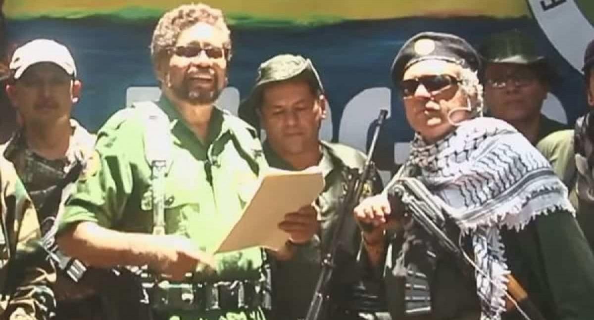 El 'poético' discurso de guerra del disidente de las FARC 'Márquez' que anuncia el retorno a las armas